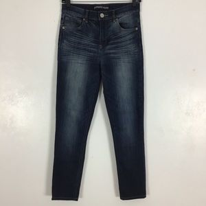 Express Ankle Legging Jeans High Rise Skinny Blue